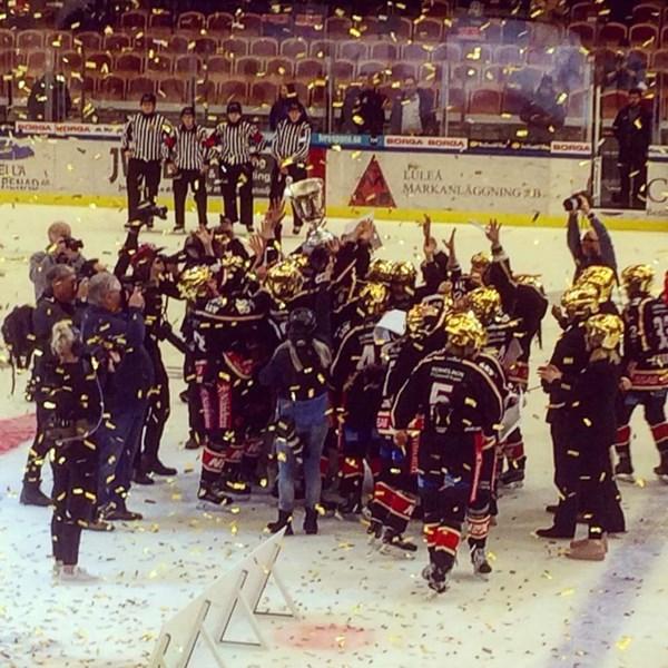 Grattis Luleå Hockey/MSSK till SM-guldet.