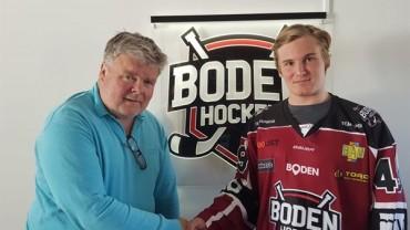 Boden Hockey förstärker offensiven med ung rivig talang