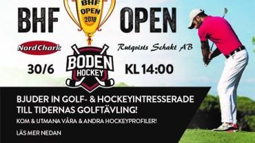 Hej alla Golf och Hockeyintresserade!