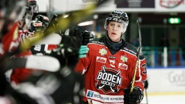 Boden Hockey förstärker med energi och klubbhjärta