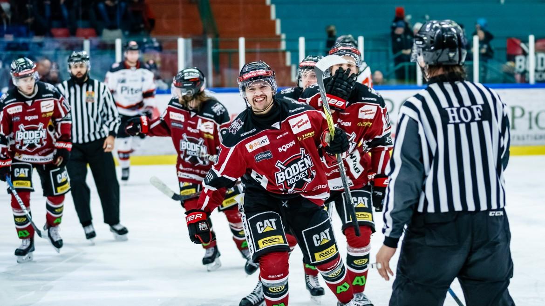 Seger mot </br>Piteå HC!