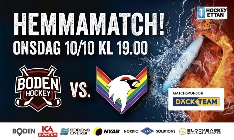 Inför matchen: Boden Hockey vs. Kiruna IF