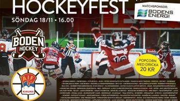 Boden Hockeys partners bjuder på hockeyfest!