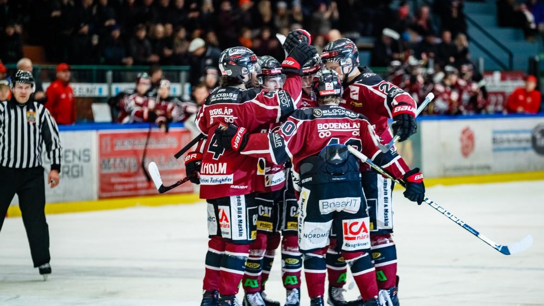Boden möter Huddinge IK i Play Off 3