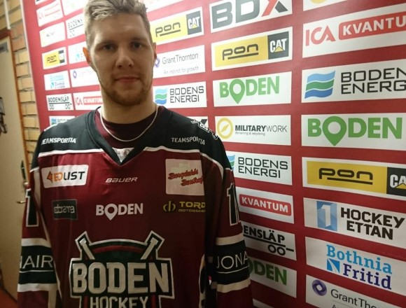 Boden Hockey presenterar Supporterspelaren 2019