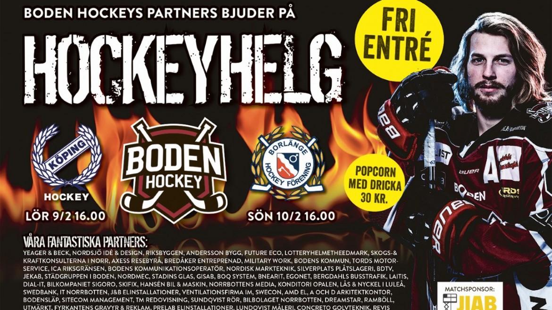 Inför matchen: Boden Hockey vs. Borlänge HF
