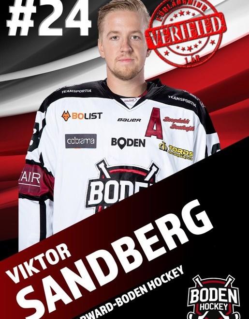 """#24 Viktor """"Ville"""" Sandberg förlänger!"""