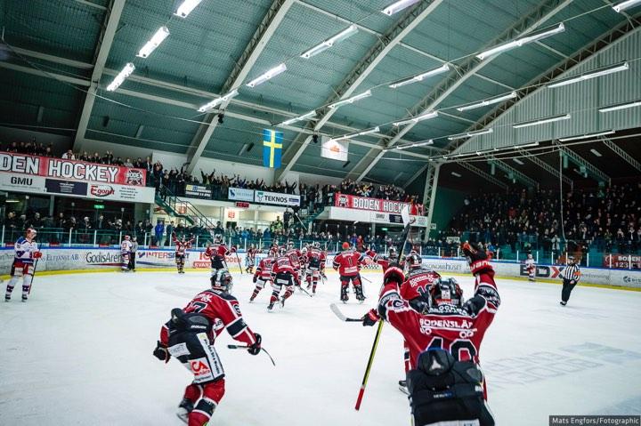 SEGER mot Allsvenska Vita Hästen!