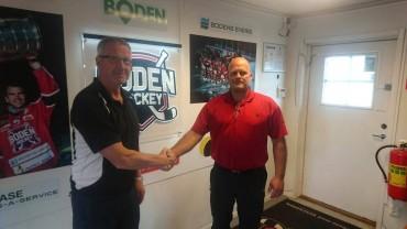 Boden Hockey är stolta att presentera kommande säsongs huvudtränare!