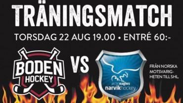 Inför matchen: Boden Hockey vs. Narvik