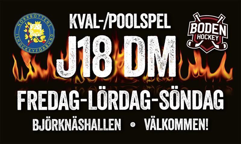 DM-spel för J18 i Björknäshallen