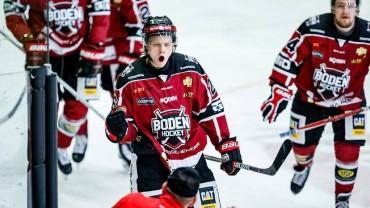 """Sebastian Huczkowski förlänger: """"Det finns bara ett lag i HockeyEttan som jag vill spela för"""""""