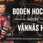 Webbsändning: Boden Hockey vs. Vännäs HC