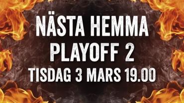 Boden möter Troja/Ljungby i Play Off 2