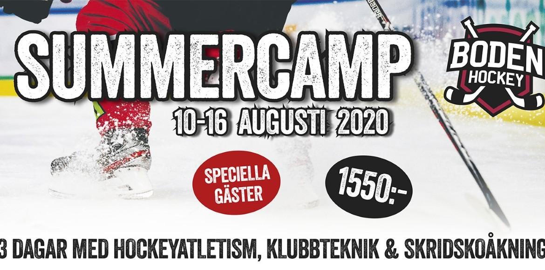Summercamp 2020 – förlängd anmälningstid!