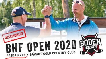 Dags för BHF Open!