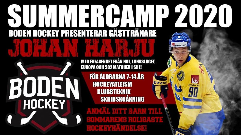 Johan Harju kommer till Summercamp!
