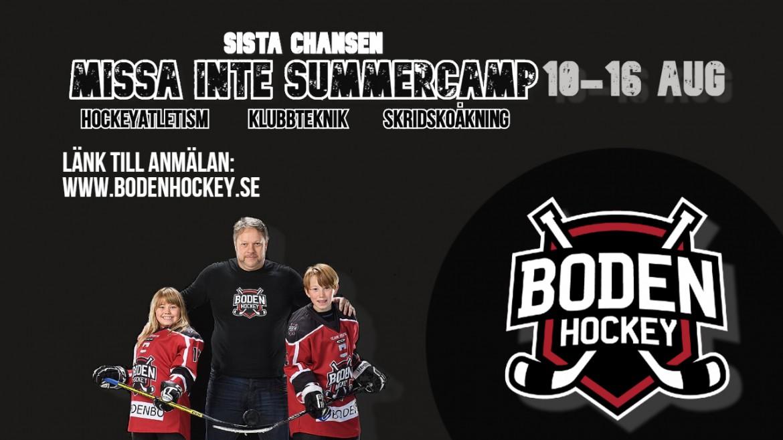 Sista chansen – Anmäl till Summercamp!