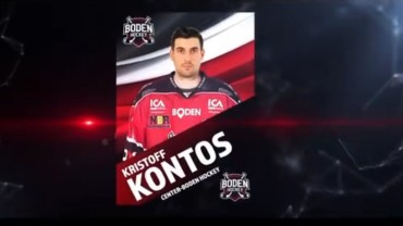 Kristoff Kontos klar för spel i Bodentröjan