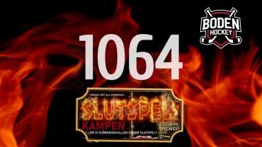 1064 sålda stödbiljetter – andra & tredje utlottningen!