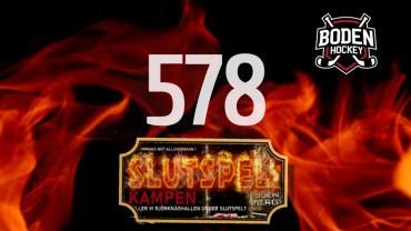 578 sålda stödbiljetter!