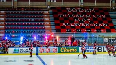 Kvartsfinal: Boden Hockey vs. Mariestad BoIS HC