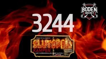 3244 sålda stödbiljetter – tionde utlottningen!
