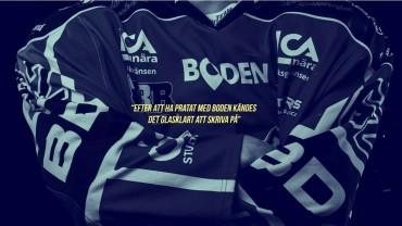 """Oskar Matushkin till Boden Hockey: """"glasklart att skriva på"""""""